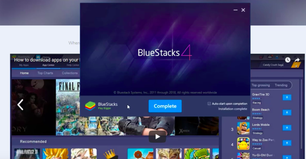 BlueStacks to Install BeeTV App on PC