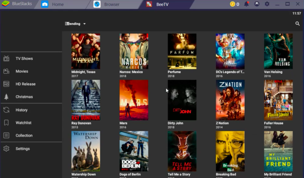 BeeTV Movies on Windows & Mac PC
