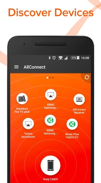 Launch AllConnect App - Bee TV App