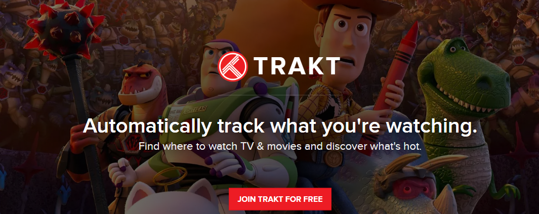 Trakt - Bee TV UI